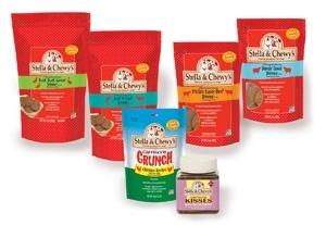 Stella & Chewy's Frozen and Freeze Dried Dinners for dogs