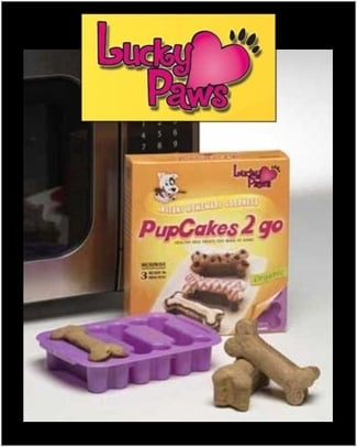 Lucky Paws Microwavable PetCakes