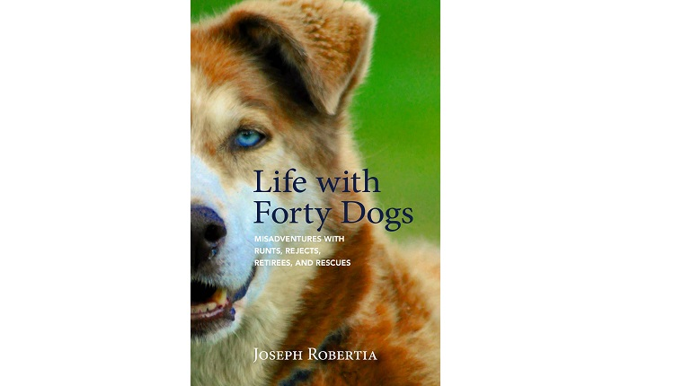 Life with Forty Dogs book cover