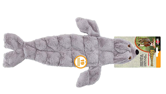 Seal Dog Toy with lots of squeakers