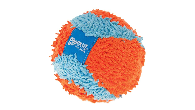 Soft indoor ball for dog