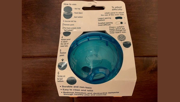 Minimal assembly required, with great instructions cleverly printed right on the packaging -- eco-friendly, too!