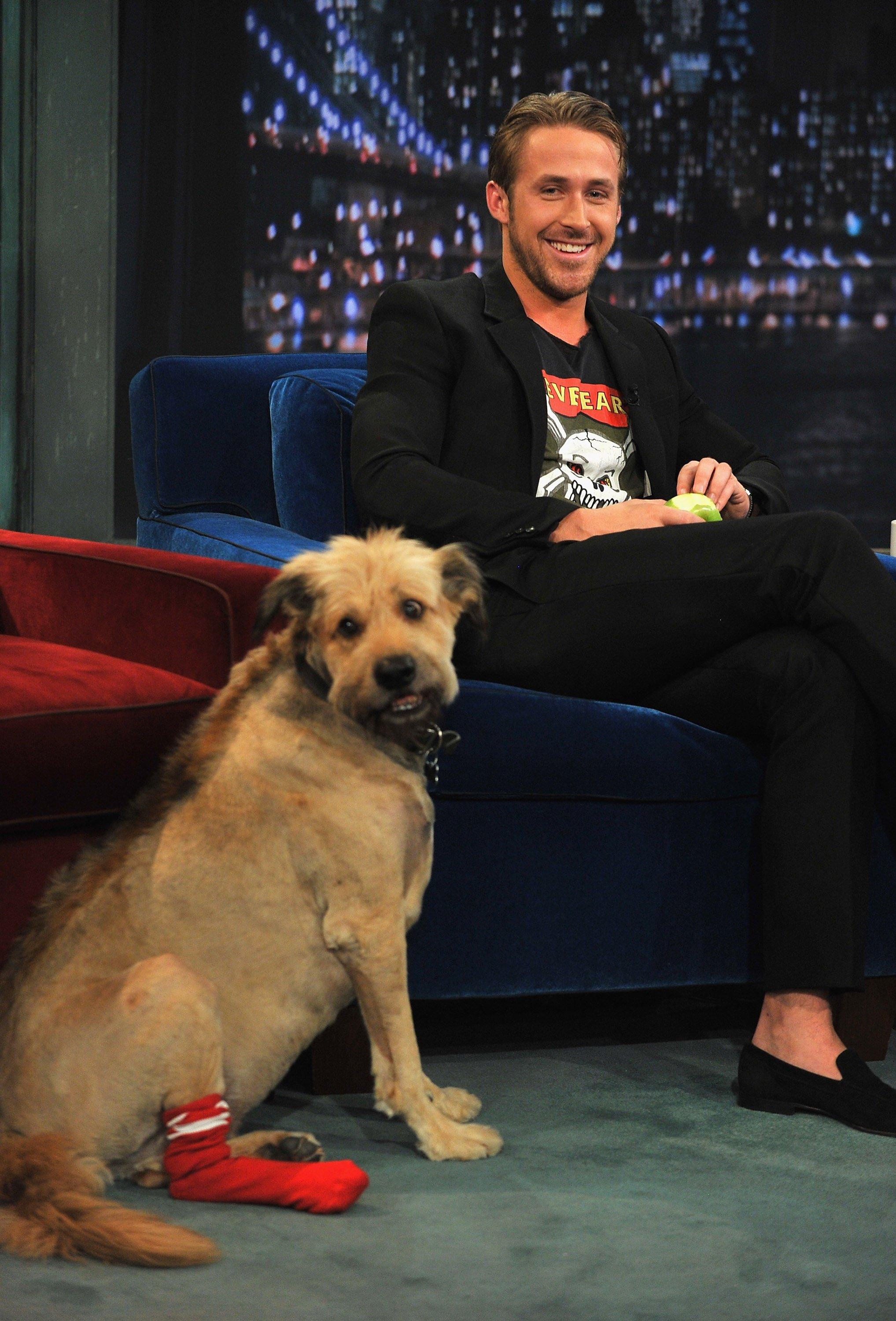 Ryan Gosling And His Dog, George