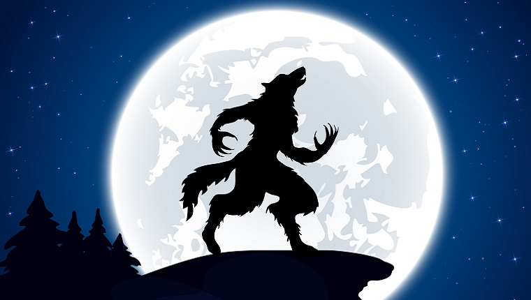 Your Dog Howls At The Moon -- Werewolves Rage Under It